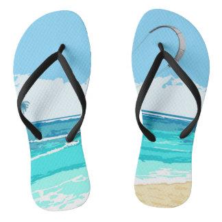 Flips-flopes de Kitesurf Chanclas