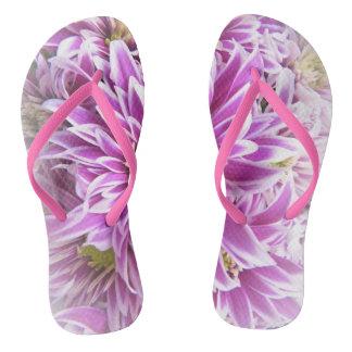 Flips-flopes de la flor chanclas