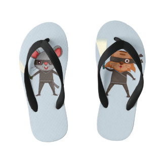 Flips-flopes de Ninja Chanclas Para Niños
