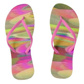Flips-flopes del desierto del color chanclas