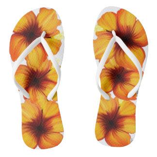 Flips-flopes del hibisco chanclas