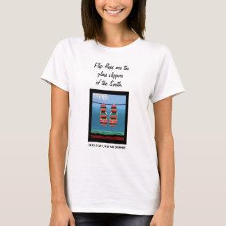 Flips-flopes del SWAG - los deslizadores de Camiseta
