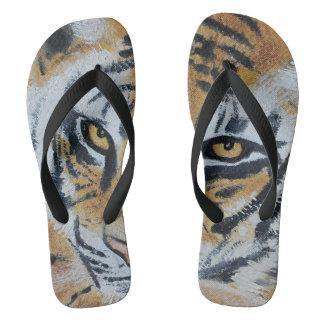 Flips-flopes del tigre chanclas