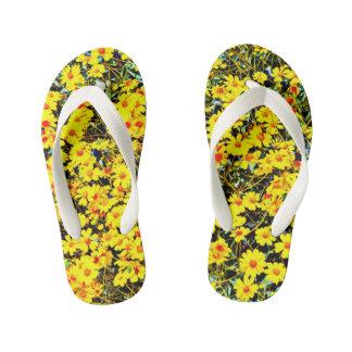 Flips-flopes del Wildflower del niño de encargo Chanclas Para Niños