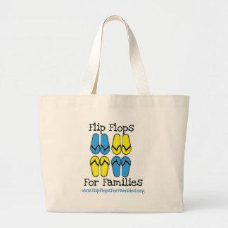 Flips-flopes para el engranaje de las familias bolsa