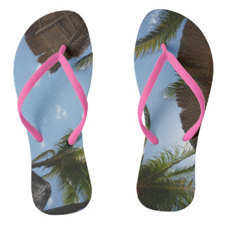 Flips-flopes tropicales chanclas