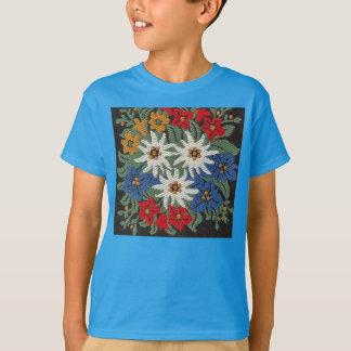 Flor alpina suiza de Edelweiss Camiseta