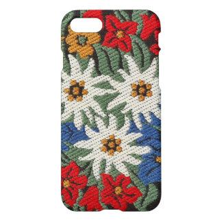Flor alpina suiza de Edelweiss Funda Para iPhone 7