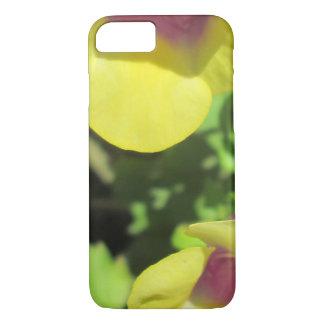 Flor amarilla del jardín de la planta de Torenia Funda iPhone 7