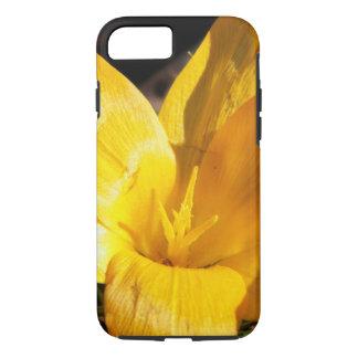 Flor amarilla funda iPhone 7