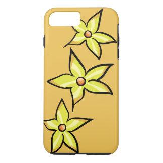 Flor amarilla funda iPhone 7 plus