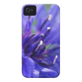 Flor azul 2 frecuencia intermedia iPhone 4 funda