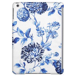 Flor azul de Capri Foral Toile