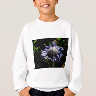 Flor azul de Scabiosa Sudadera