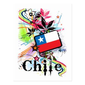 Flor Chile Postal