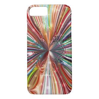 Flor cristalina cósmica funda iPhone 7