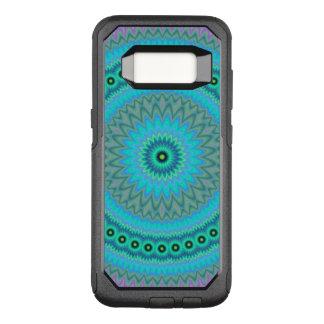 Flor de Boho Funda Otterbox Commuter Para Samsung Galaxy S8