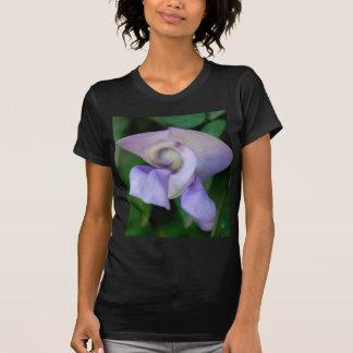 Flor de caracol camisetas