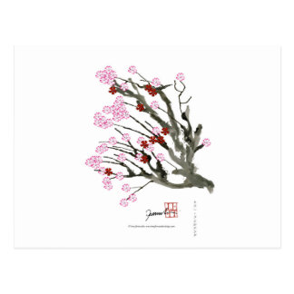 flor de cerezo 11 Tony Fernandes Postal