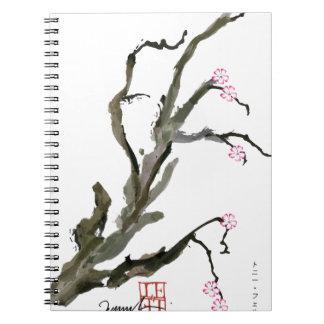 Flor de cerezo 15 Tony Fernandes Cuaderno
