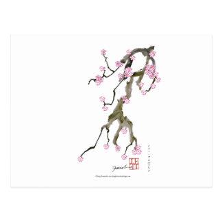 Flor de cerezo 17 Tony Fernandes Postal
