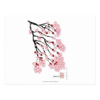 Flor de cerezo 18 Tony Fernandes Postal