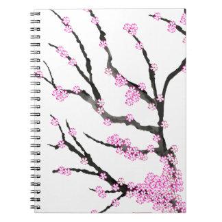 Flor de cerezo 21, Tony Fernandes de Sakura Cuaderno