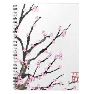 Flor de cerezo 23, Tony Fernandes de Sakura Cuaderno