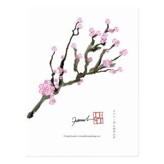 Flor de cerezo 8 de Tony Fernandes Postal