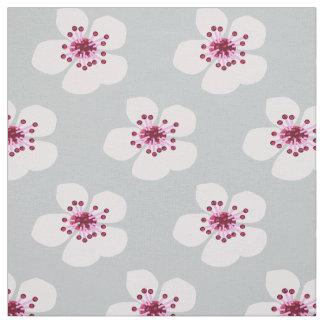 Flor de cerezo de Sakura Tela