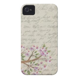 Flor de cerezo funda para iPhone 4