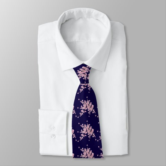 Flor de cerezo para una corbata