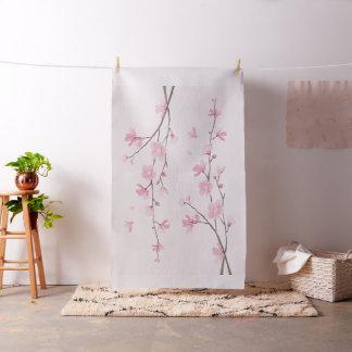 Flor de cerezo - rosa tela