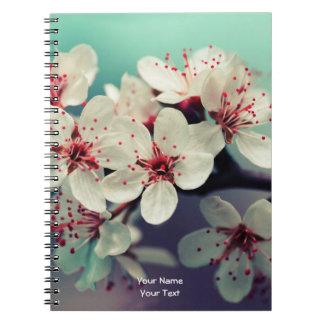 Flor de cerezo rosada, Cherryblossom, Sakura Cuaderno