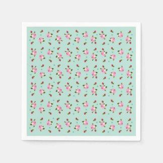 Flor de cerezo servilletas desechables