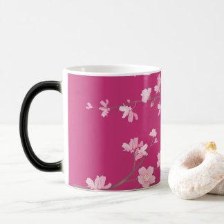 Flor de cerezo taza mágica