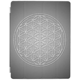 Flor de DES Lebens - blanco de la vida/de Blume Cover De iPad