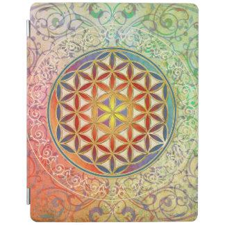 Flor de DES Lebens de la vida/de Blume - adorne I Cubierta De iPad