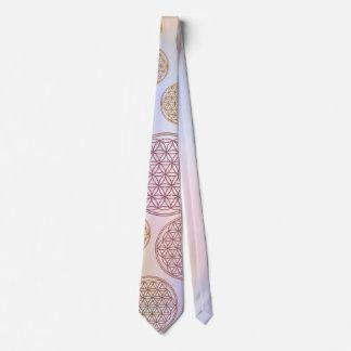 Flor de DES Lebens de la vida/de Blume - modele la Corbata