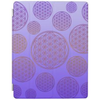 Flor de DES Lebens de la vida/de Blume - modele la Cubierta De iPad