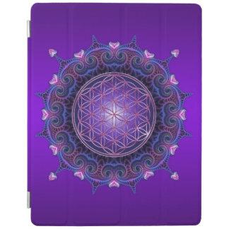 Flor de DES Lebens - mandala I de la vida/de Blume Cover De iPad