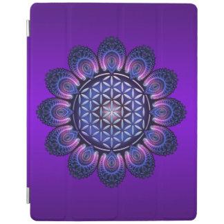 Flor de DES Lebens - mandala II de la vida/de Blum Cover De iPad