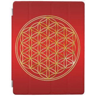 Flor de DES Lebens - oro de la vida/de Blume Cover De iPad