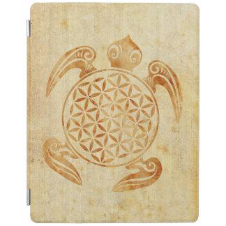 Flor de DES Lebens - piedra de la vida/de Blume de Cubierta De iPad