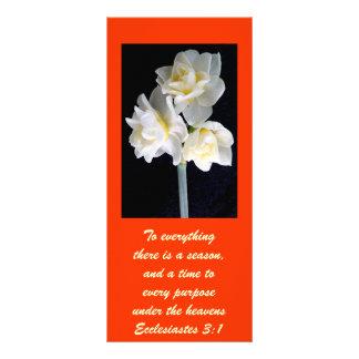 Flor de Jonquil - 3 1 de Ecclesiastes Lona Personalizada