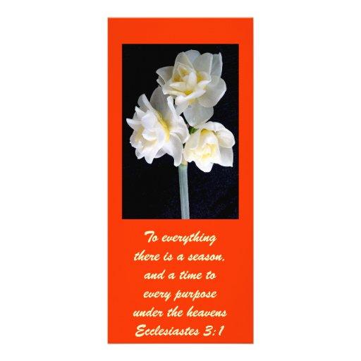 Flor de Jonquil - 3:1 de Ecclesiastes Lona Personalizada