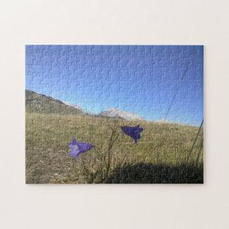 Flor de la montaña puzzle