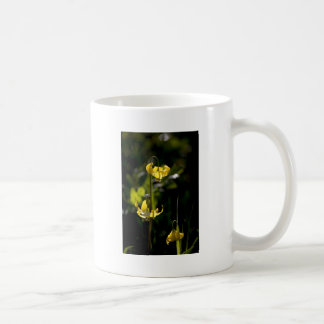 Flor de la montaña taza clásica