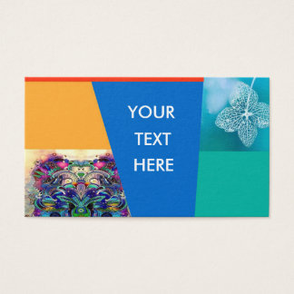 flor de la tarjeta de visita
