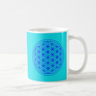 Flor de la taza sagrada de la geometría de la vida